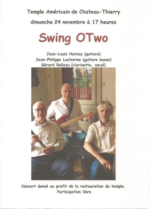 concert du 24 novembre 2019 Swing Otwo